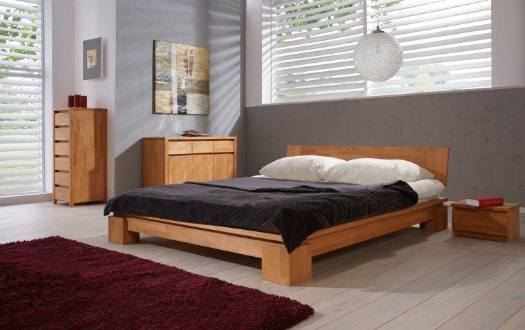 Łóżko z kolekcji Vinci