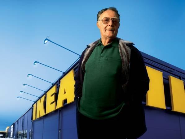 Ingvar Kamprad - założyciel IKEA