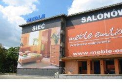 Budynek Meble-Emilia na ul. Cybernetyki w Warszawie