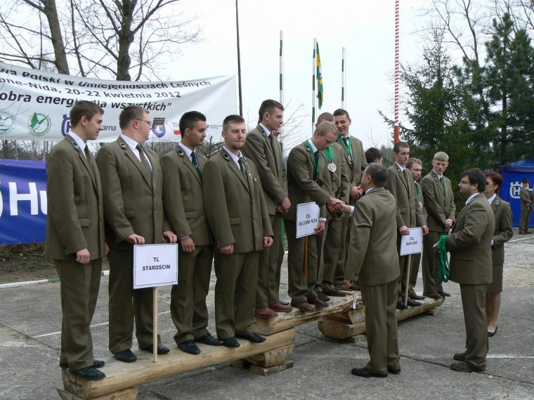 Zwycięzcy  IV Mistrzostw Polski Szkół w Umiejętnościach Leśnych