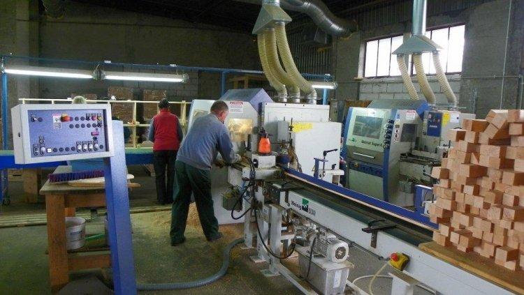 Produkcja elementów struganych