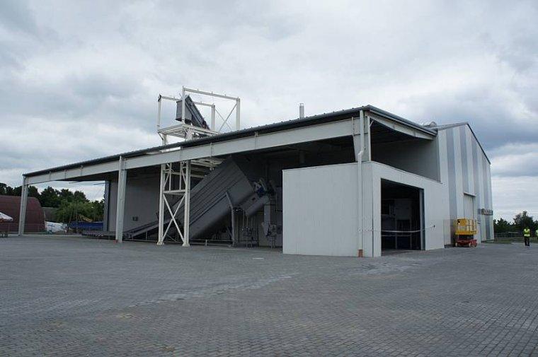 Zakładu Granulacji Biomasy w Koniecwałdzie