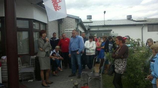 Bezterminowy strajk w Steinpolu