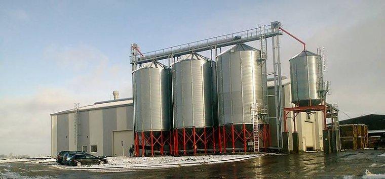 Zakład produkcji pelletu w Koniecwałdzie
