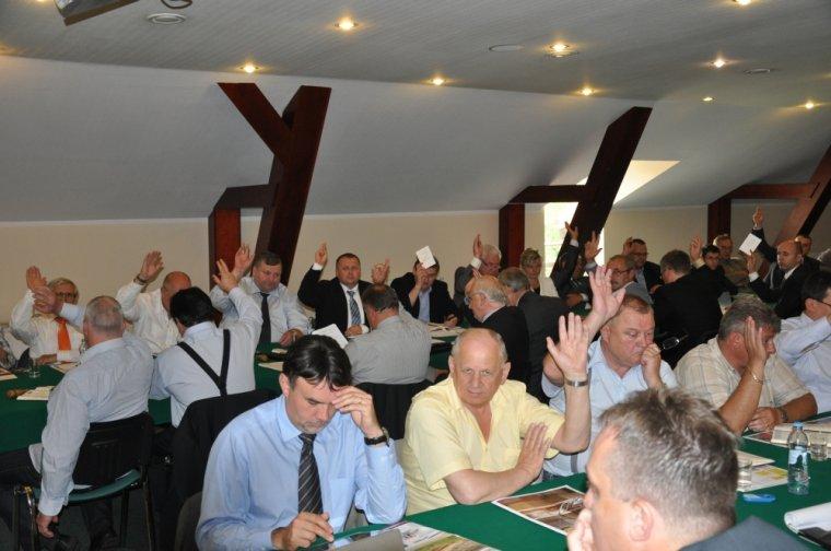 Walne zgromadzenie członków PIGPD w Rosnówku