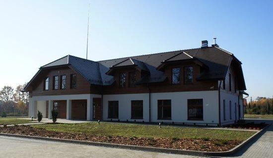 Nowa siedziba Nadleśnictwa Kobiór została wybudowana w czasie, kiedy dyrektorem generalnym LP był Marian Pigan