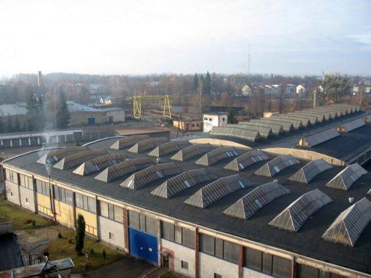 Budynki produkcyjne ZM Hamech