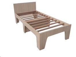 Łóżka stanowiące wyposażenie pokojów wioski olimpijskiej można kupić za niecałe 40 funtów