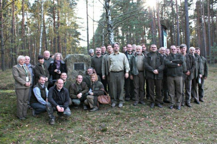 """Uczestnicy III Konferencji """"Człowiek-Las-Drewno"""""""