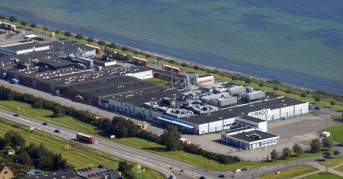 Fabryka podłóg laminowanych w Trelleborgu