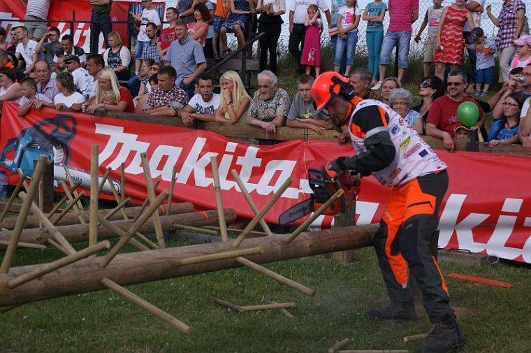 Zawody drwali w Bobrowej