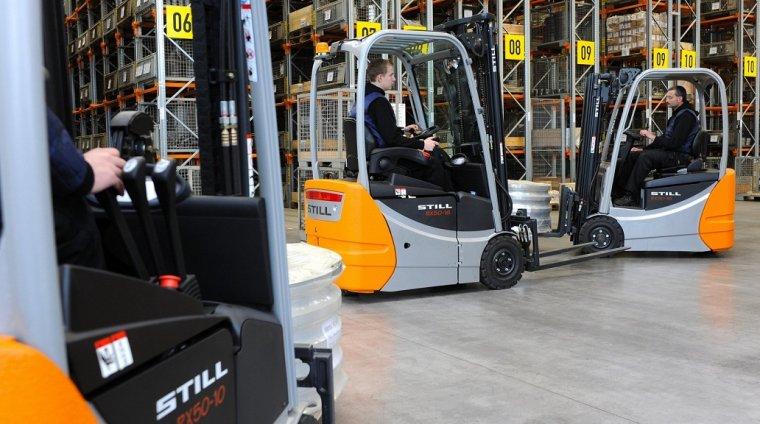 Sprawniej między regałami - efektywność wykorzystania wózków widłowych