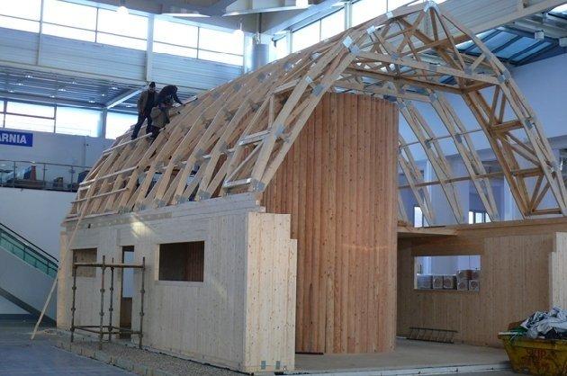 Trwa budowa Domu autonomicznego