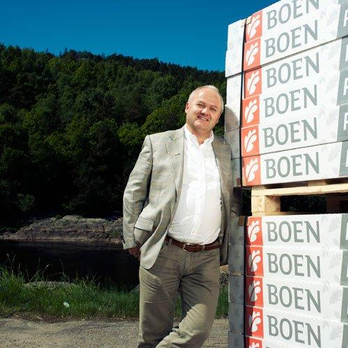 Thorleif Hals, Prezes Zarządu Boen