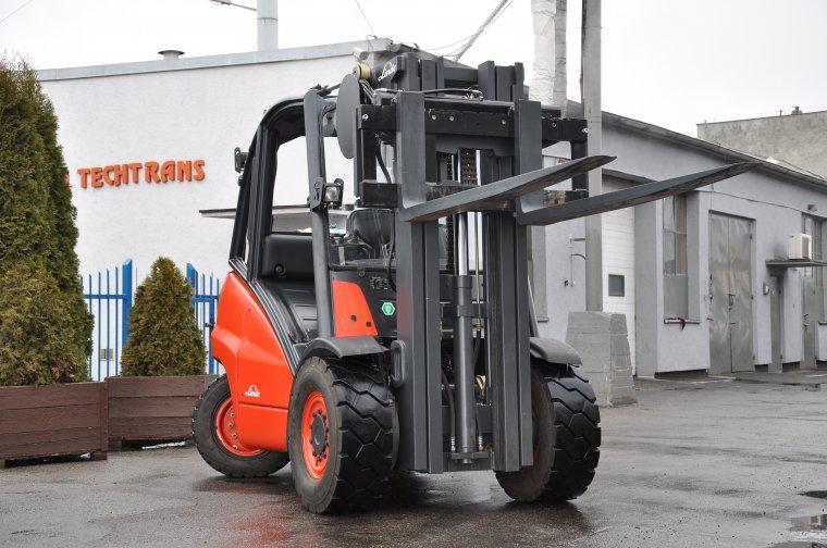 Techtrans - Kolejny wózek Linde po gruntownej odbudowie