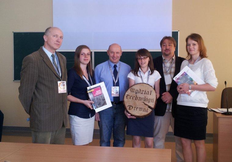 Studenci Wydziału Technologii Drewna SGGW odnieśli sukces na Międzynarodowym Seminarium Kół Naukowych.
