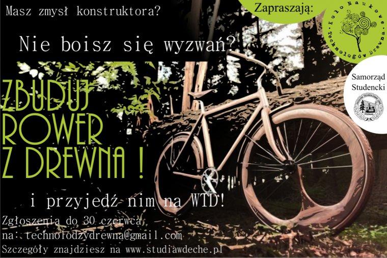Konkurs - Zbuduj Rower z Drewna