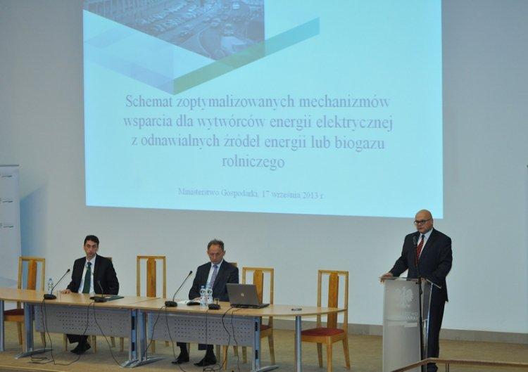 Ministerstwo Gospodarki przedstawiło projekt nowego systemu wsparcia OZE