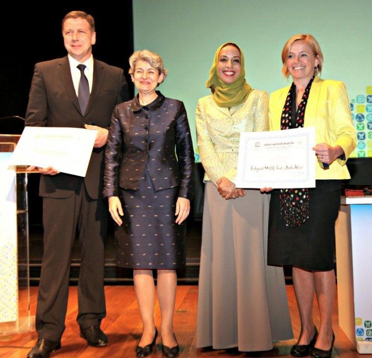 Nagroda UNESCO dla Lasów Państwowych