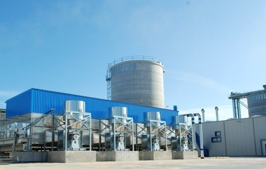 Moce produkcyjne Zakładu Produkcji Pellet Stelmet w Zielonej Górze sięgają 144 tysięcy ton rocznie.