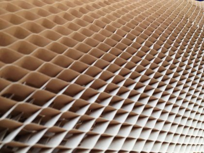 Wypełnienia tekturowe o strukturze plastra miodu