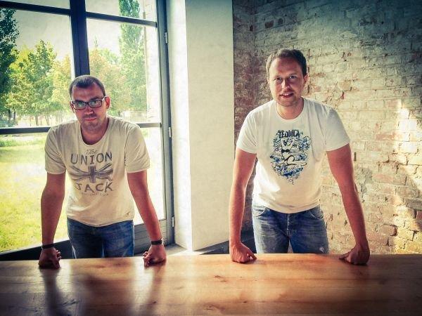 Jacek Augustyniak i Tomasz Jęsiek