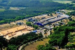 Fabryka płyt pilśniowych w Krośnie Odrzańskim