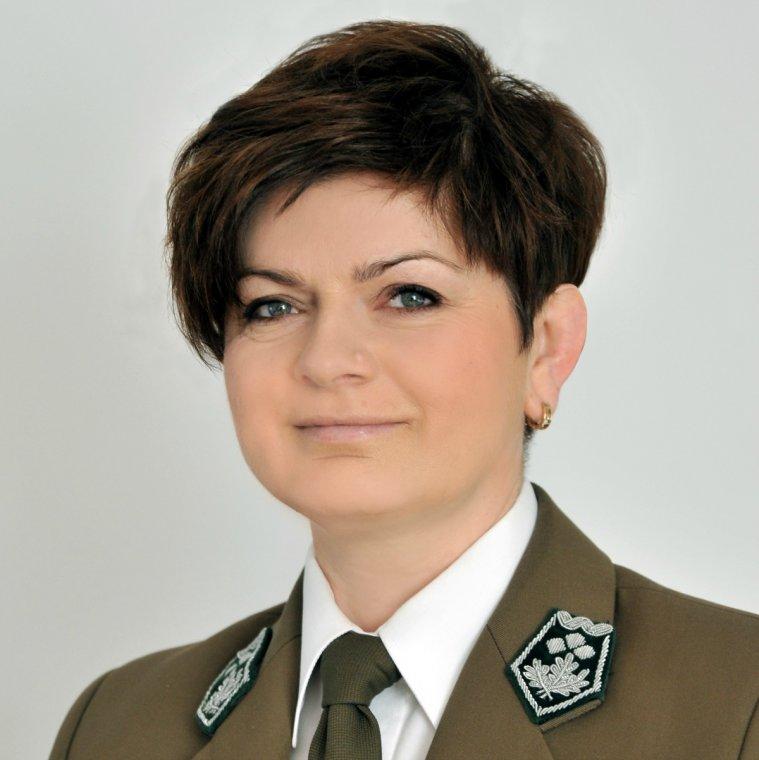 Małgorzata Błyskun, dyrektor Regionalnej Dyrekcji Lasów Państwowych w Olsztynie