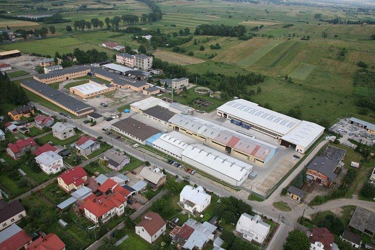 Zakład produkcyjny Pol-Panel w Rymanowie