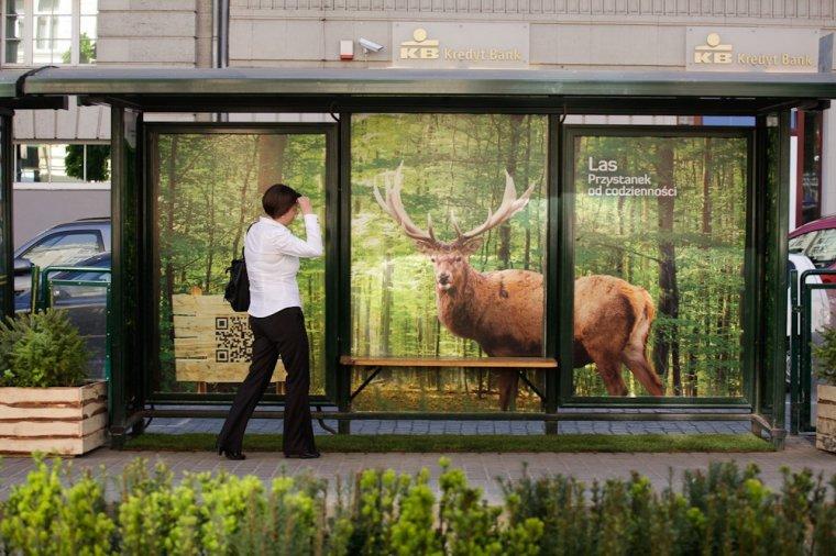 Projekt promocji lasów zrealizowany w 2013r. przez RDLP w Poznaniu - Las. Przystanek od codzienności