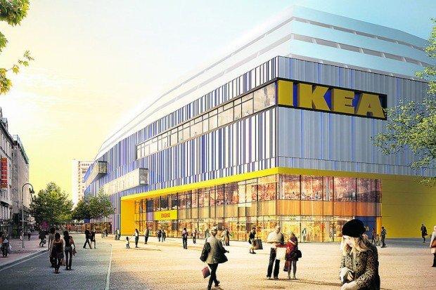 Wizualizacja centrum handlowego IKEA Altona