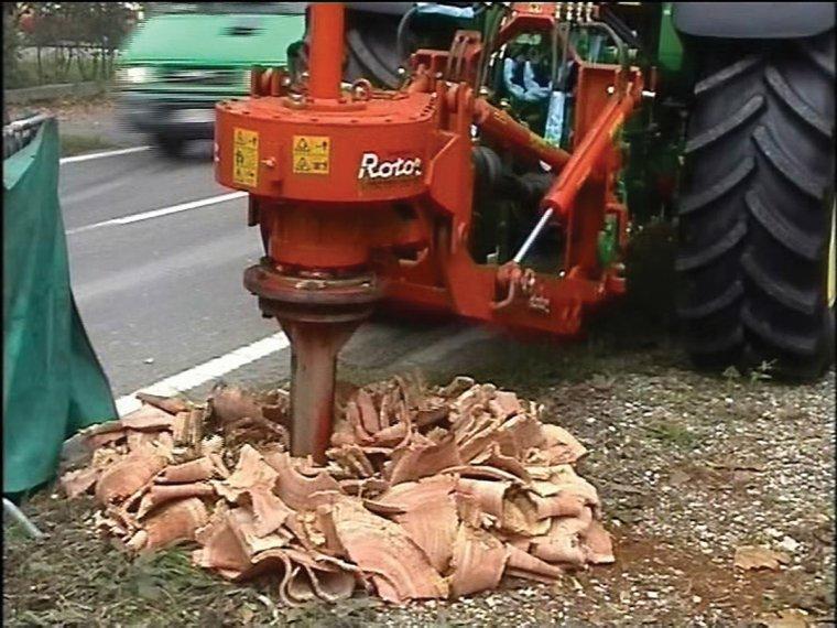 ROTOR SPEEDY 100/130 – urządzenie do usuwania pni i korzeni drzew