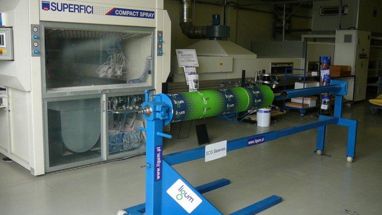 System wymiany powierzchni gumowej walców EOS Sleevs