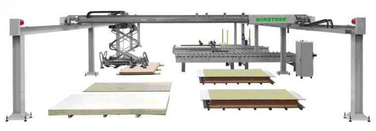Automatyczny system składowania BIESSE RBO WNS WINSTORE 3D K2