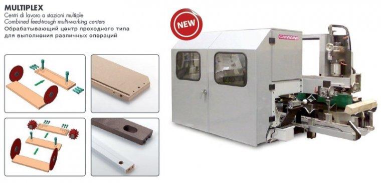 Wielozadaniowe, przelotowe centrum obróbcze wersja NC.MOD.MLTIPLEX/ CN 2200