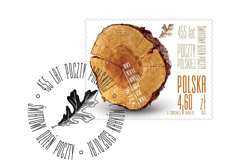 Okolicznościowy znaczek z Polski najpiękniejszy na świecie