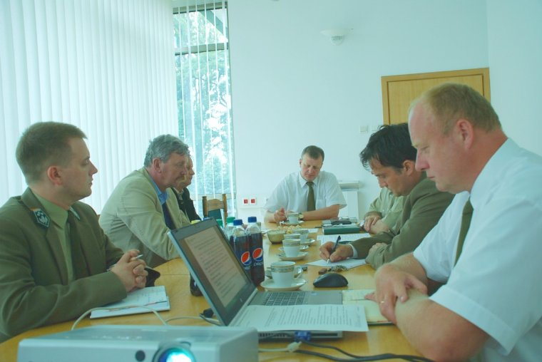 Spotkanie łódzkich leśników z przedsiębiorcami leśnymi
