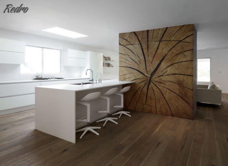 Drewno jako główny bohater stylizacji wnętrza