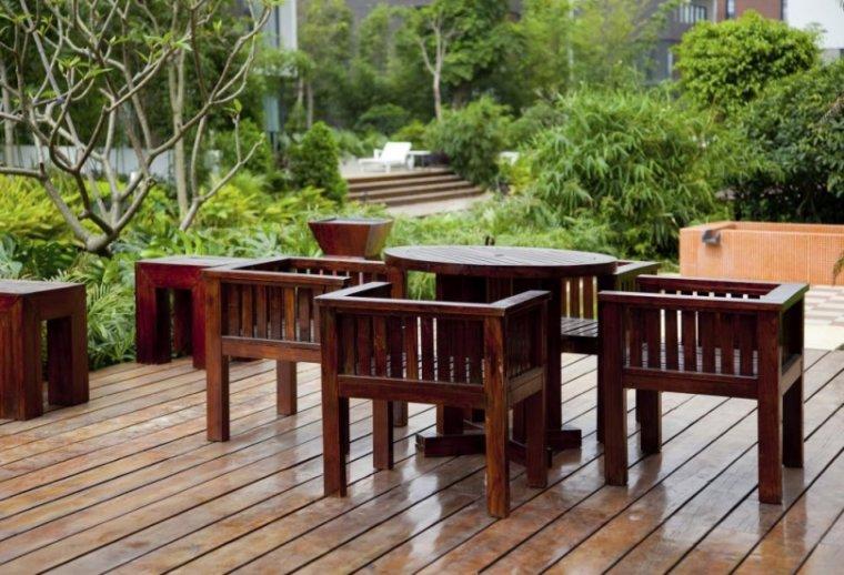 Trwała ochrona mebli ogrodowych