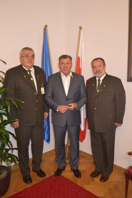Przedstwiciele Stowarzyszenia Przedsiębiorców Leśnych na spotkaniu z wicepremierem Januszem Piechocińskim