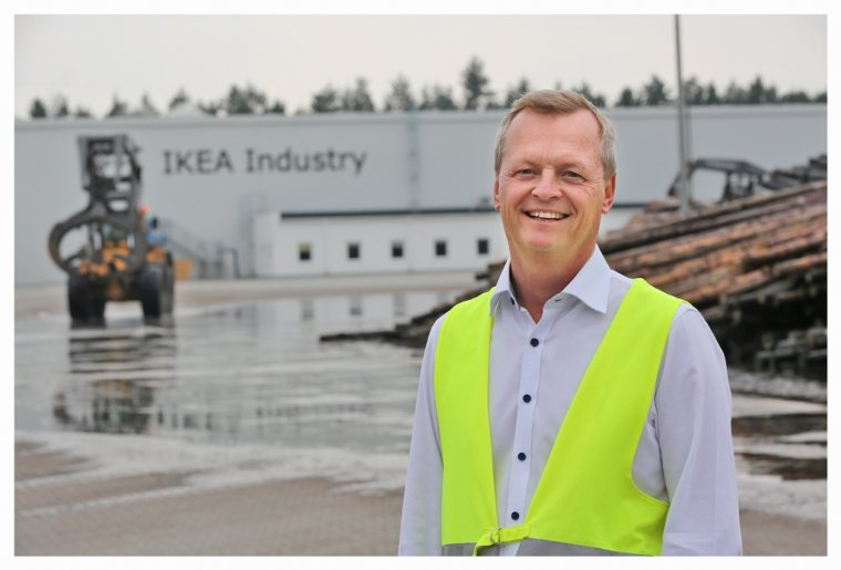 Ulf Gabrielsson, dyrektor tartaku IKEA Industry Stalowa Wola