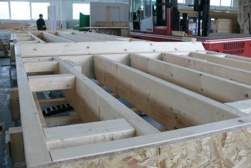 Produkukcja domów modułowych w konstrukcji szkieletowej