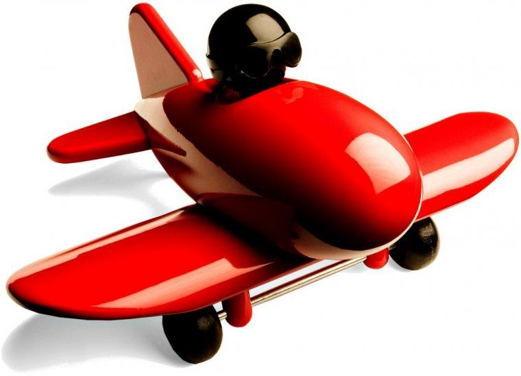 Zabawki z drewna - Jetliner