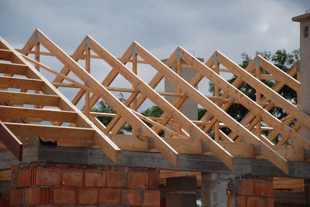 Idealnie równe połacie dachu