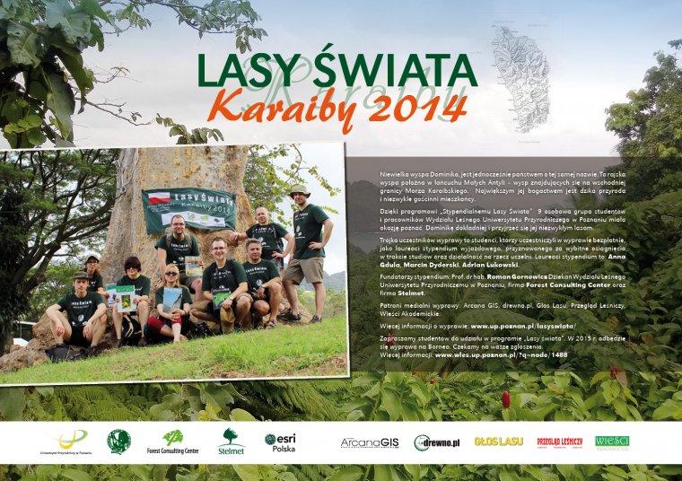 Lasy Świata - Karaiby 2014: Zapraszamy na wystawę