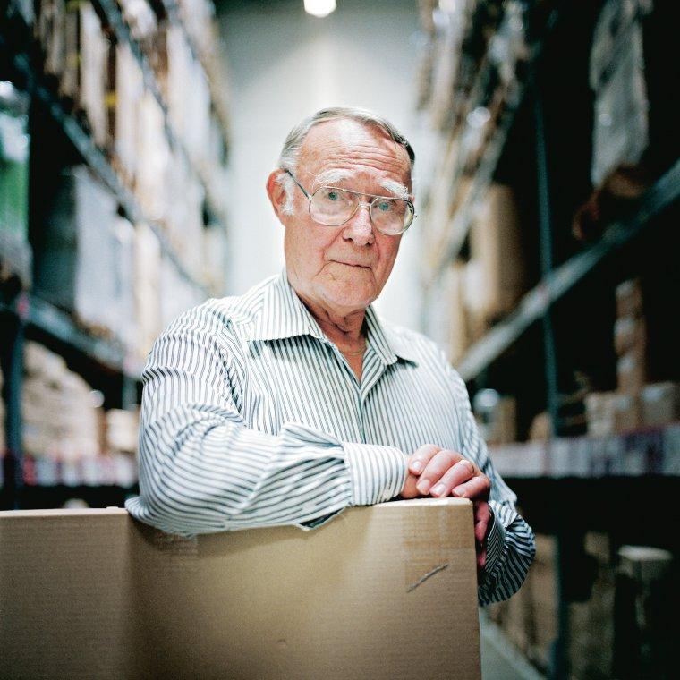 Ingvar Kamprad - założyciel koncernu IKEA