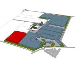 Projekt lokalizacji nowej hali produkcyjnej