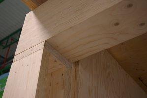 LVL znajduje zastosowanie jako materiał konstrukcyjny w budownictwie
