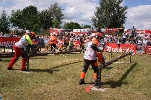 Międzynarodowe Zawody Drwali w Bobrowie