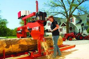 Trak Wood-Mizer LT15
